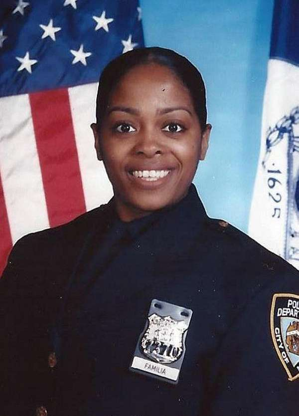NYPD officer Miosotis Familia was fatally shot early