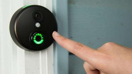 The SkyBell HD Wi-Fi Video Doorbell features integration
