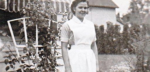 Uldine LeBlanc was a nursing school student in