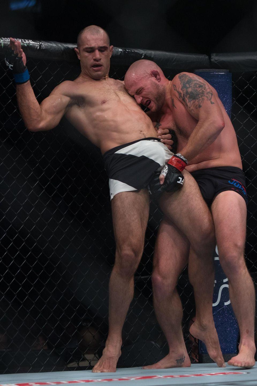 UFC light heavyweights Jordan Johnson and Marcel Fortuna