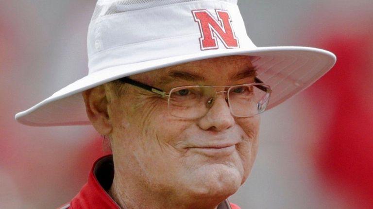 Nebraska's Bob Elliott attends the annual NCAA college