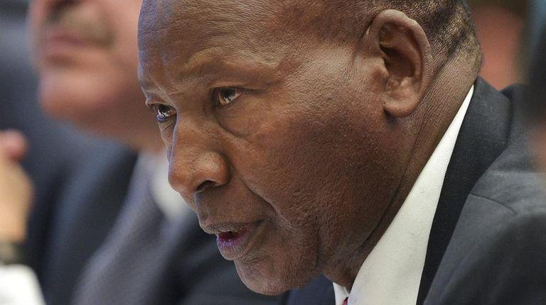Kenya's Interior Minister, Joseph Nkaissery, died on July