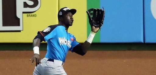 Estevan Florial of the New York Yankees and