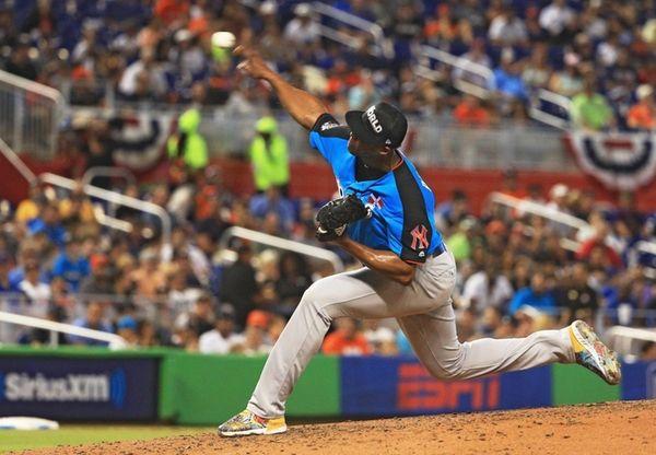 Domingo Acevedo of the New York Yankees and