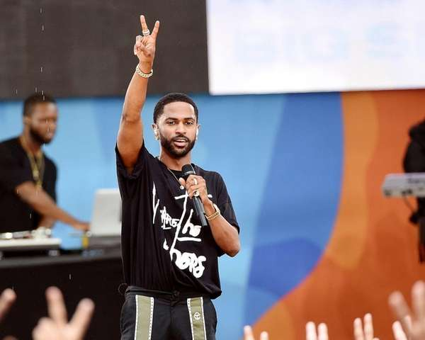 Rapper Big Sean performs on ABC's
