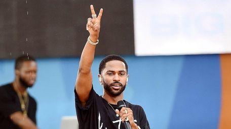 Rapper Big Sean performs on ABC's
