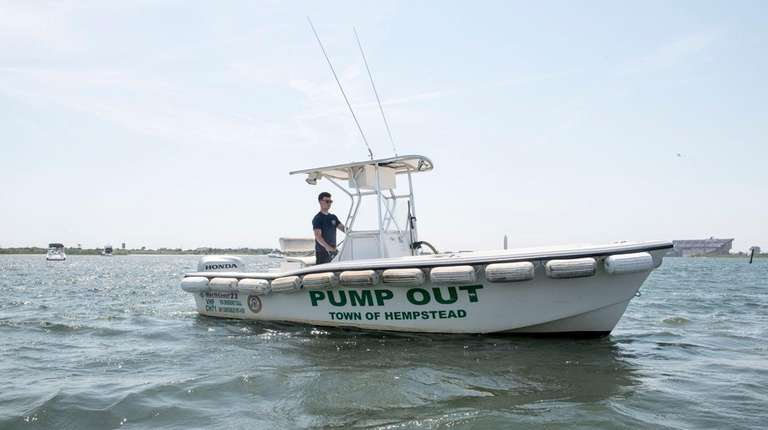 Hempstead Town has reduced its free pump-out