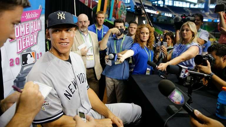 All-Star Aaron Judge of the New York Yankees