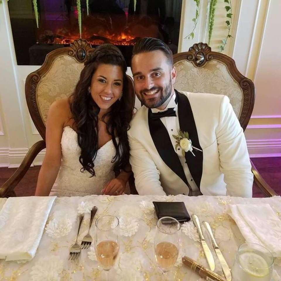 My Niece and Her New Husband! Justin and