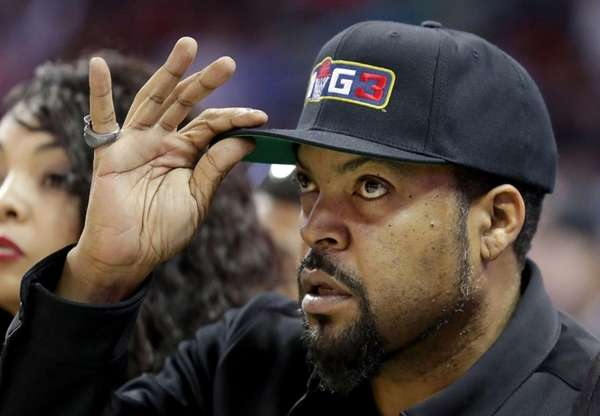 Ice Cube watches week two of the BIG3