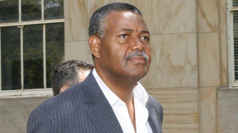 Former Nassau County Legis. Patrick Williams leaves the