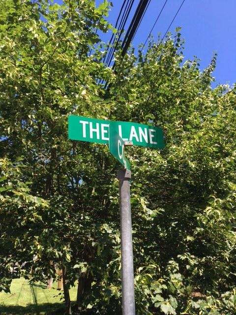 This little lane in Oyster Bay is right