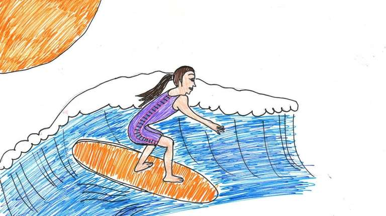 Go surfing or boogie boarding at Jones Beach,