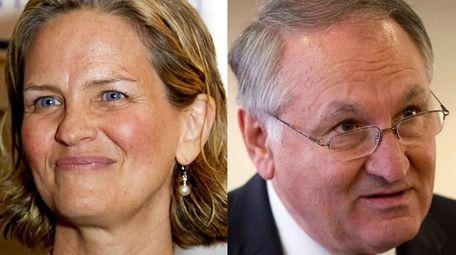 Nassau County Legis. Laura Curran and Nassau Comptroller