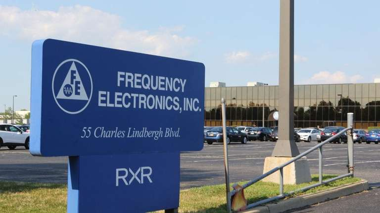 The Uniondale offices of Frequency Electronics Inc.