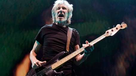 Roger Waters performs during his
