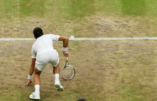 I've played on better courts - Djokovic disgruntled with quality of Wimbledon surface