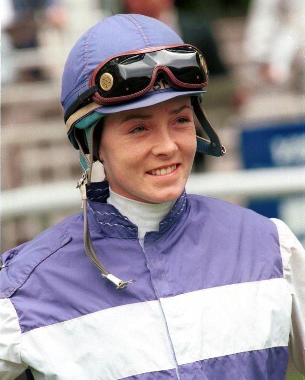 Jockey Diane J. Nelson, a multiple graded-stakes winning