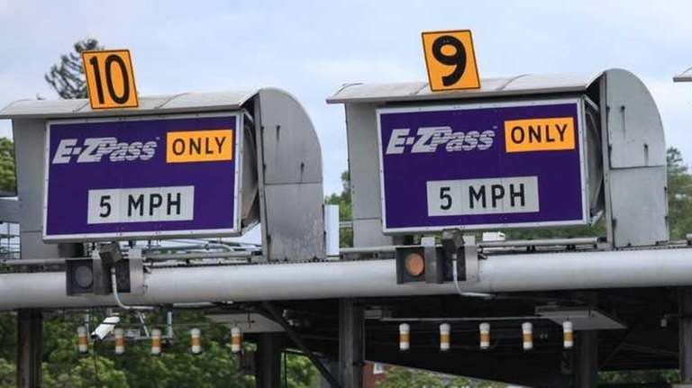 E-ZPass lanes offer a quick pay option for