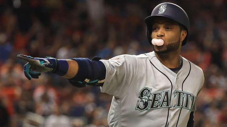 Robinson Cano, of the Seattle Mariners and the