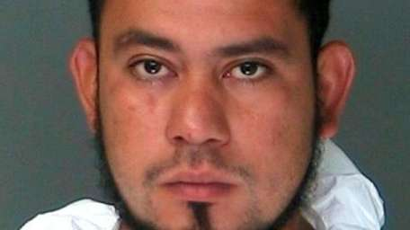 Jaime DeLeon-Tino, 23, of Greenport, was arrested Tuesday,