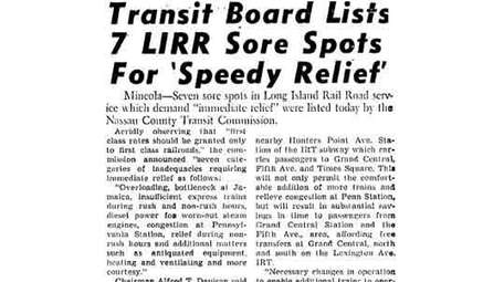 An article that ran on Jan. 7, 1949.