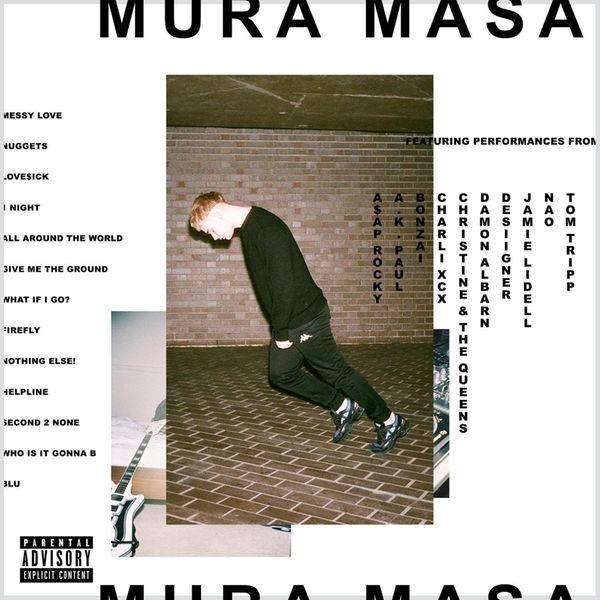 Mura Masa's debut album bears his name.