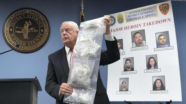 Suffolk DA: 16 arrested in heroin, cocaine ring takedown