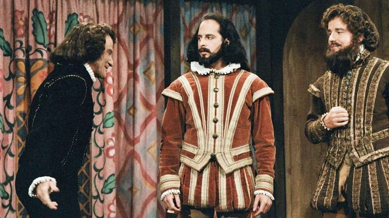 Jon Lovitz, center, played Shakespeare with Robin Williams,