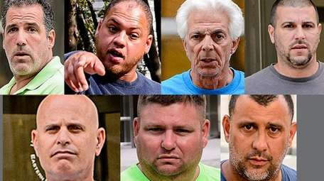 These seven people were accused Wednesday, July 12,