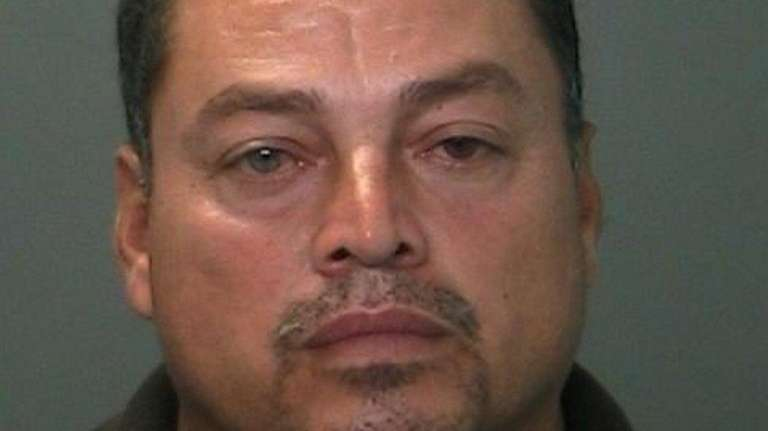 Narciso Chavez, 51, of Amityville, was arrested Tuesday,