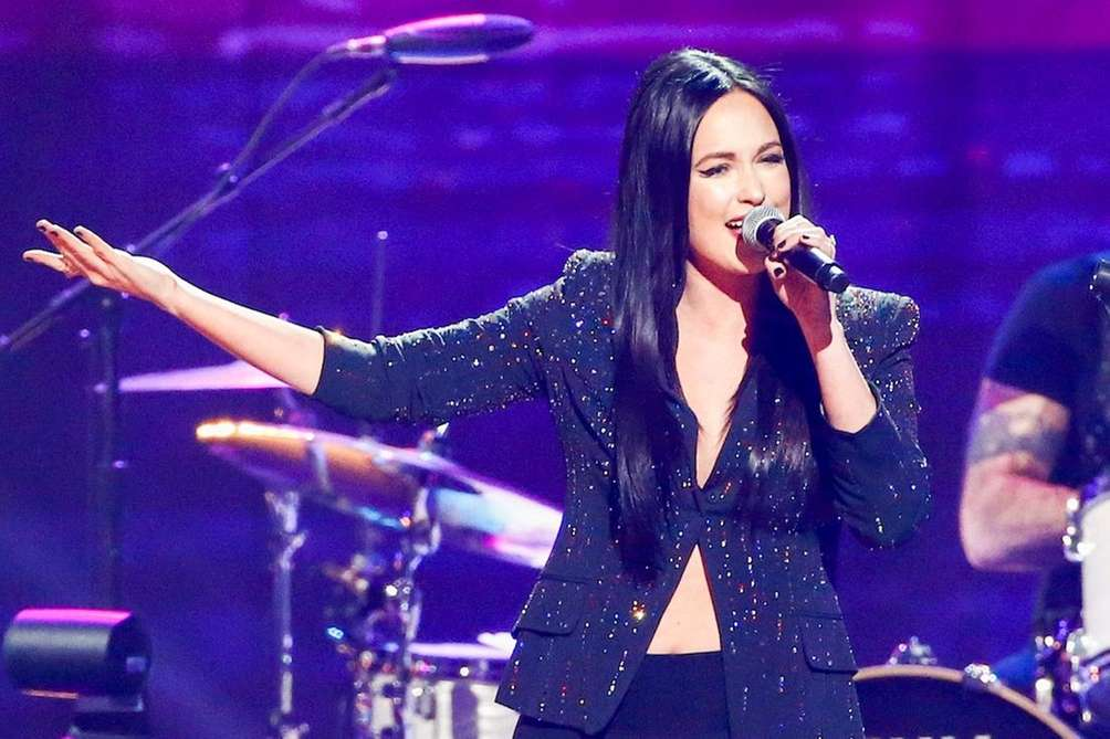 Kacey Musgraves performs at the concert