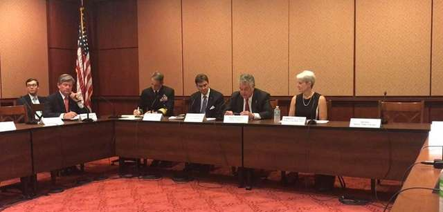 The USMMA Board of Visitors meets in Washington,