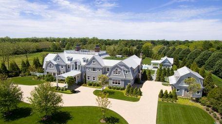 The 16,000 square-foot house has nine en-suite bedrooms