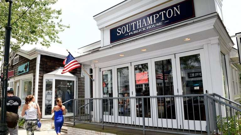 Southampton Publick House was seized Wednesday by the