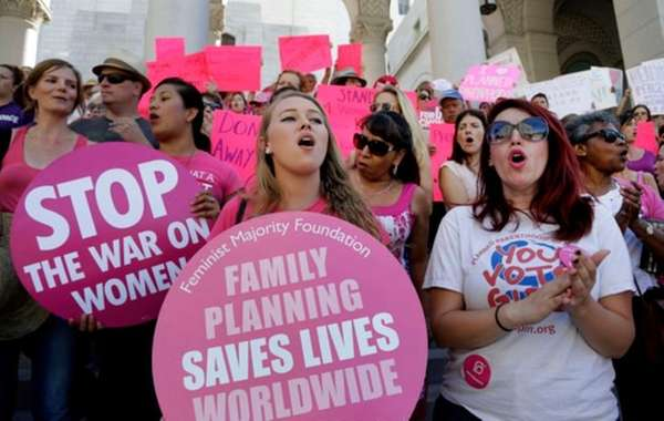 Planned Parenthood supporters rally for women's access to