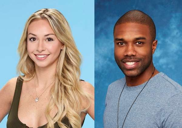 Corinne Olympios and DeMario Jackson of ABC's