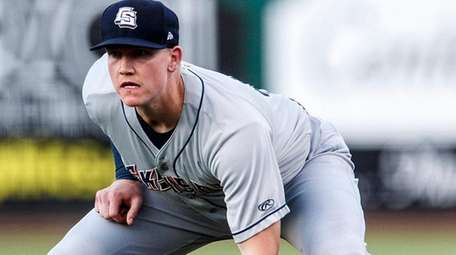 Colorado Springs Sky Sox first baseman Garrett Cooper