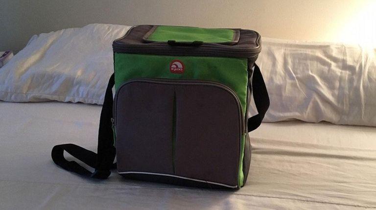 A bag forgotten by Pat Dirzulaitis of Massapequa