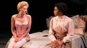 Julia Motyka, left, and Kelly McCreary star in