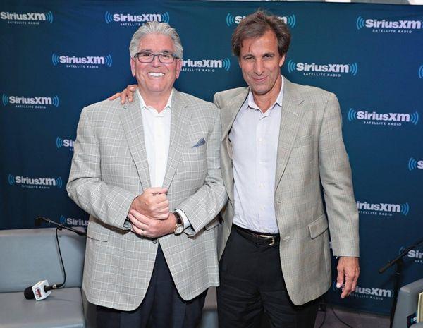 Mike Francesa and Chris Russoof