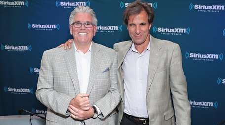 Mike Francesa and Chris Russo of
