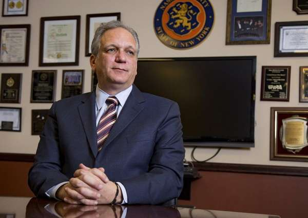 Nassau County Executive Edward Mangano speaks about governing