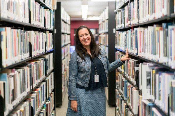 Assistant director Lisa Kropp says the Lindenhurst Memorial