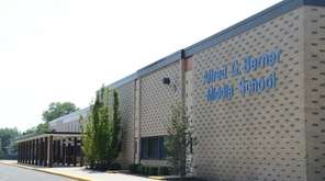 Berner Middle School in the Massapequa school district