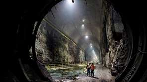 The east cavern of the East Side Access