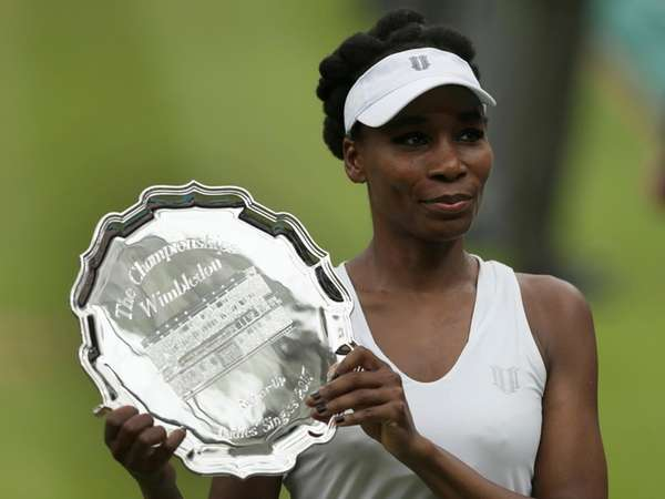 SILVER, NOT GOLD. Venus Williams of the United