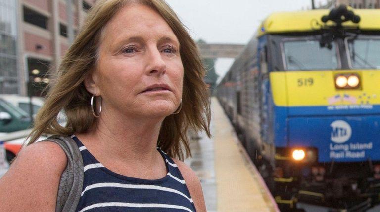Mary Carr, 52, of Mineola at the Mineola