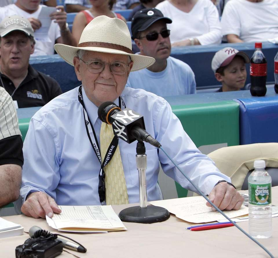 Wolff, a legendary sportscaster who began calling games