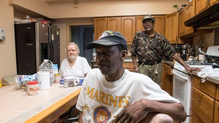 Former Marine Corps sergeant James Brooks, who along